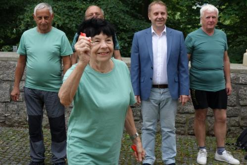 10......Sport. hry seniorů, Liberec -družstvo  JABLONEC n N  -šipky