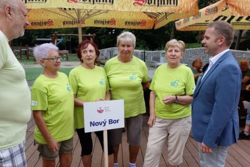 9......Sport. hry seniorů, Liberec --družstvo NOVÝ BOR